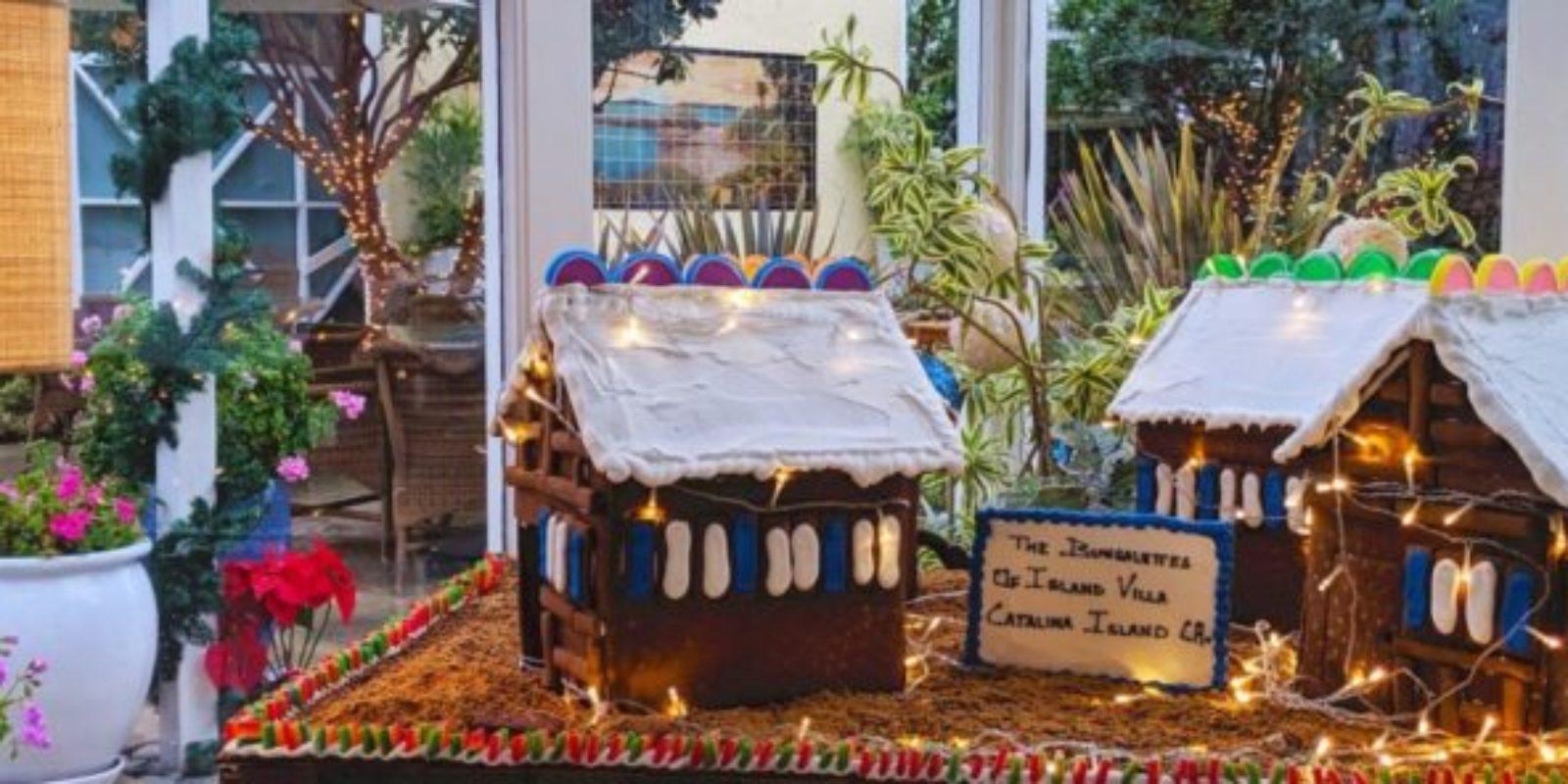 Catalina Island's Jovial Gingerbread Confections